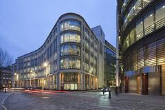 30 Gresham Street - London (david.bank (www.david-bank.com)) Tags: city uk england london architecture modern canon twilight dusk shift bluehour tilt tse nla 17mm davidbank