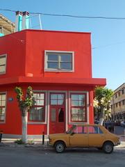 Κοκκινο Κτιριο ΙΙ ,Πετραλωνα