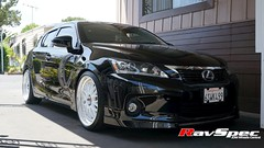 "WORK VSXX Step Lip - Lexus CT200h • <a style=""font-size:0.8em;"" href=""http://www.flickr.com/photos/64399356@N08/14151821453/"" target=""_blank"">View on Flickr</a>"