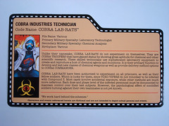 G.I. Joe 2014 Con Exclusive — Cobra Lab-Rats — (BurningAstronaut) Tags: modern club real toy lab cobra force action zombie joe file card american rats convention hero figure era technician collectors eco exclusive gi industries loose initiative labrats compoundz