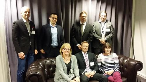 Hallitus vuodelle 2015: Thomas Hughes, Juha Berghäll, Timo Hyvönen, Tomi Lamminsalo, Pirkko Lankinen, Teemu Anttila, Liisa Torkkeli