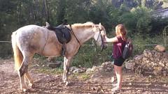 Horse. (//Mir//) Tags: horse girl spain asturias corao