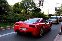 Ferrari 458 Italia (MonacoFreak) Tags: summer car cotedazur italia ferrari montecarlo monaco supercar frenchriviera 458