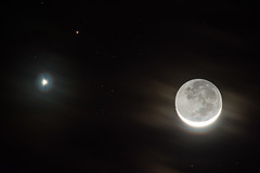 Moon, Venus and Mars Conjunction - February 2015 (Old Boone) Tags: winter stars star nikon florida space science 300mm nebula fl february dx lightroom crystalriver 2015 300mmf4 crystalbay jamesboone d7100 oldboone nikond7100 nikkor300mmf4epfedvr 300mmf4edpfafs nikkor300mmf4edpfafs nikon300mmf4epfedvr 300mmpfvr