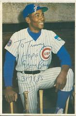 ernie banks autograph (timp37) Tags: chicago illinois autograph cubs ernie 1985 banks