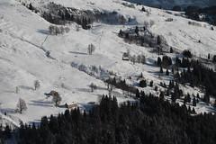 Promenade en raquettes à la Pierre fendue (Stefho74) Tags: france montagne neige savoie hautesavoie rhonealpes sallanches saintanne lapierrefendue stefho74 lintre promenaderaquettes lepontdelaflée