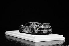 McLaren P1 Spy Car TrueScale Models 1/43 (Rmy   www.chtiphotocar.com) Tags: light test paris car 1 photo woking nikon track technology models twin mini camo turbo mclaren spy collectible hybrid supercar v8 p1 43 motorshow 2012 lightroom diecast tsm hypercar truescale