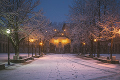 Gernika nevado (Ral Urrea) Tags: snow nieve neve bizkaia euskalherria vizcaya basquecountry gernika pasvasco