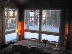 Puumerkki Cottage Dining area