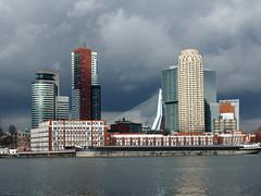 Rotterdam Skyline (hans.griep) Tags: rotterdam nederland erasmusbrug