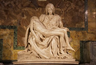 michelangelo's pietà: no need to say more.