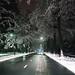 Sneeuw in Drenthe
