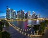 The Last Shot Fired (bing dun (nitewalk)) Tags: sunset night marina bay singapore cityscape district central business cbd sands mbs mbfc