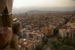 Barcelona desde la Sagrada Familia.