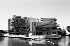 Former Ankara Motel Now Aloft South Beach (Phillip Pessar) Tags: building beach architecture hotel florida miami south trix motel x tri ankara sobe midcentury aloft