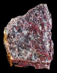 Cinnabar (Eduardo Estllez) Tags: naturaleza color macro vertical rojo natural mineral duro cristales piedra geologia solido nadie coleccionismo primerplano cinnabar mineria fondonegro mineralogia cinabrio enfoqueselectivo sulfuro fondooscuro volcanicos eduardoestellez estellez