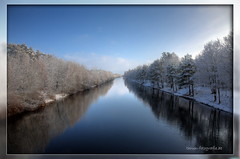 Winterwonderland (Pinky0173) Tags: blue schnee winter snow water canon germany wasser brandenburg damncool landdscape pinky0173 thrunfotografiede
