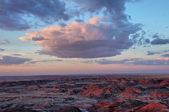 sunset on the painted desert (J Blough) Tags: arizona nps petrifiedforestnationalpark