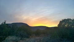 Golden Sunset (Sedona Clearing House) Tags: sunset shadow arizona sun mountains southwest field clouds evening dusk farm sedona mesa
