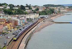 HST at Dawlish. (curly42) Tags: coast seaside railway express 125 hst dawlish class43 fgw