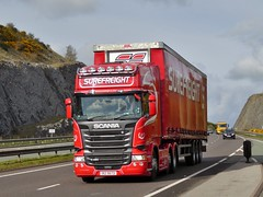 Photo of IXZ 5673 - Scania R450 - Surefreight Ltd., Newry, Co. Down, Northern Ireland.