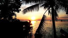 Rising Sun (eternal_ag0ny) Tags: ocean blue sunset red sea sky orange cloud tree water beautiful beauty silhouette sunrise boat fishing sony georgetown malaysia penang z3 pulau pinang xperiaz3