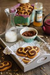 IMG_9694_exp (Helena / Rico sin Azcar) Tags: cookies chocolate palmeras butter vanilla palmier galletas vainilla mantequilla