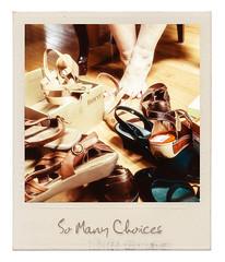 So Many Choices (lclower19) Tags: feet polaroid shoes gizmodo odc hss 2152 522016