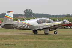 D-EDDN - 1963 build Mooney M.20C Mark 21, departing from Tannheim during Tannkosh 2013 (egcc) Tags: mooney m20 tannheim 2595 2013 tannkosh m20c edmt deddn mark21