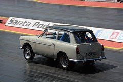 Austin (Fast an' Bulbous) Tags: santa england test car race speed drag pod nikon automobile track power outdoor gimp fast testing strip vehicle rwyb d7100