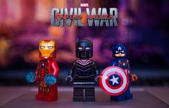 Captain America: Civil War Review (Jonathan Wong Photography) Tags: man black america movie war iron lego review civil captain panther rant themes analysis thorough vigilantism a not