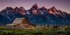 Moulton Barn (Travis Klingler (SivArt)) Tags: mormonrow grandteton moultonbarn danballard sunrise wyoming