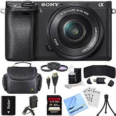 Sony Alpha a6300 ILCE-6300 4K Mirrorless Camera 16-50mm Lens Bundle includes a6300 Camera, 16-50mm, Filter Kit, 64GB SD Card, Beach Camera Cleaning Cloth and More! (Nikon 1 J3 Photos) Tags: camera beach lens sony cleaning more sd filter card kit cloth alpha bundle includes 4k mirrorless 64gb 1650mm a6300 ilce6300