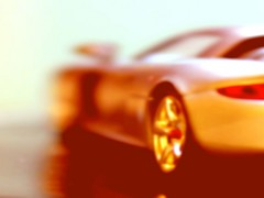 Take on me (Nathalie_Dsire) Tags: blur color colors car porsche modified less modelcar photofiltre