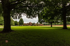 Eton college (Ntino Poulak photography) Tags: uk trees building green grass bricks etoncollege canon600d