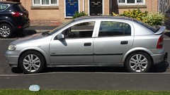My car looking good for its trip back to London the silver bullet haha (Tricky.Micky) Tags: astramk4 vauxhall astra mk4 astrag