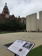 "JFK Memorial Plaza in Dallas • <a style=""font-size:0.8em;"" href=""http://www.flickr.com/photos/109120354@N07/27244264234/"" target=""_blank"">View on Flickr</a>"