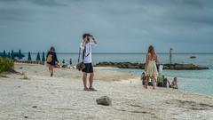 Fort Zachary Taylor Beach [Key West] (emptyseas) Tags: ocean cruise sea usa sun west beach water sunshine landscape coast boat seaside nikon key ship diesel florida fort outdoor ella atlantic shore taylor vehicle zachary sunbathers exhaust d800 emptyseas