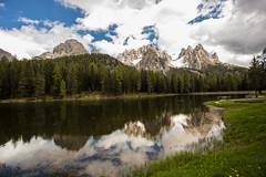 Lake Misurina (++sepp++) Tags: italien lake reflection landscape see it landschaft spiegelung dolomites dolomiti veneto dolomiten misurina auronzodicadore