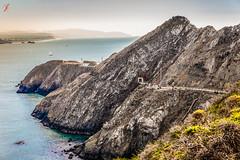 Point Bonita Lighthouse (Jamsheed Photography) Tags: lighthouse water point landscape hill bonita