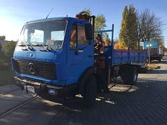 MB NG 1922 (Vehicle Tim) Tags: truck mercedes kipper ng kran mb fahrzeug lkw