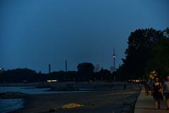 DNZ_0639_00004 (Alberto Donzelli) Tags: toronto storm beach weather night clouds beaches boar