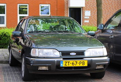 1991 Ford Sierra 2.0i Ghia Automatic (Dirk A.) Tags: ford sierra automatic 1991 ghia onk 20i sidecode4 zt67pb
