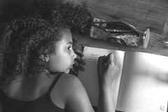 DICTE (Phil3 (ex Bassapower)) Tags: kid kids phil3 bassapower dicte orthographe school cole scolaire devoirs home work homework dream reve mtisse hair curlyhair curly cheveux afro black cameroun