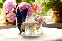 (evisdotter) Tags: flowers macro window table bokeh blommor land pellas sooc summercafe lemland