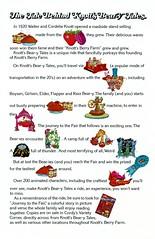 Knott's Berry Farm (jericl cat) Tags: illustration advertising book design tales ephemera story 1975 characters material 1970s press promotional knots roaring knotts 20s beary berryfarm