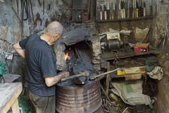 Fez - Morocco (wietsej) Tags: morocco fez workshop blacksmith tamron 18200 sonyalphanex7