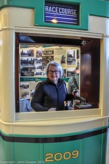 Transport Heritage NSW, a visitor shows real skill controlling an R-class tram, at  Sydney Central Railway Station (john cowper) Tags: sydney newsouthwales longweekend centralrailwaystation heritageexpress rclasstram transportfornsw transportheritagensw