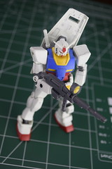 Panel lined with Beam Rifle (Gundam100) Tags: original panel gundam lining gunpla 1144 rx782 gundam100 gundam100com