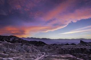 Zabriske Point Sunset, Death Valley N.P.